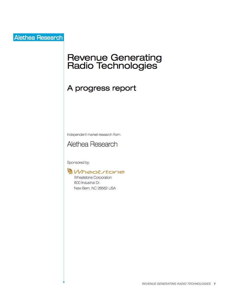 Alethea Revenue Generating Radio Tech v2
